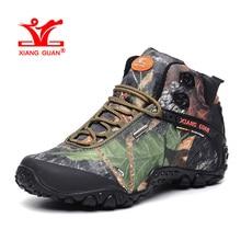 XIANGGUAN Woman Hiking Shoes for Women Nice Athletic Trekking Boots Camo Zapatillas Sport Climbing Shoe Outdoor