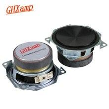 GHXAPM 3 אינץ מלא טווח רמקול רכב Mediant רמקול קולנוע ביתי אודיו רמקולים 8OHM 20 W 2 pcs
