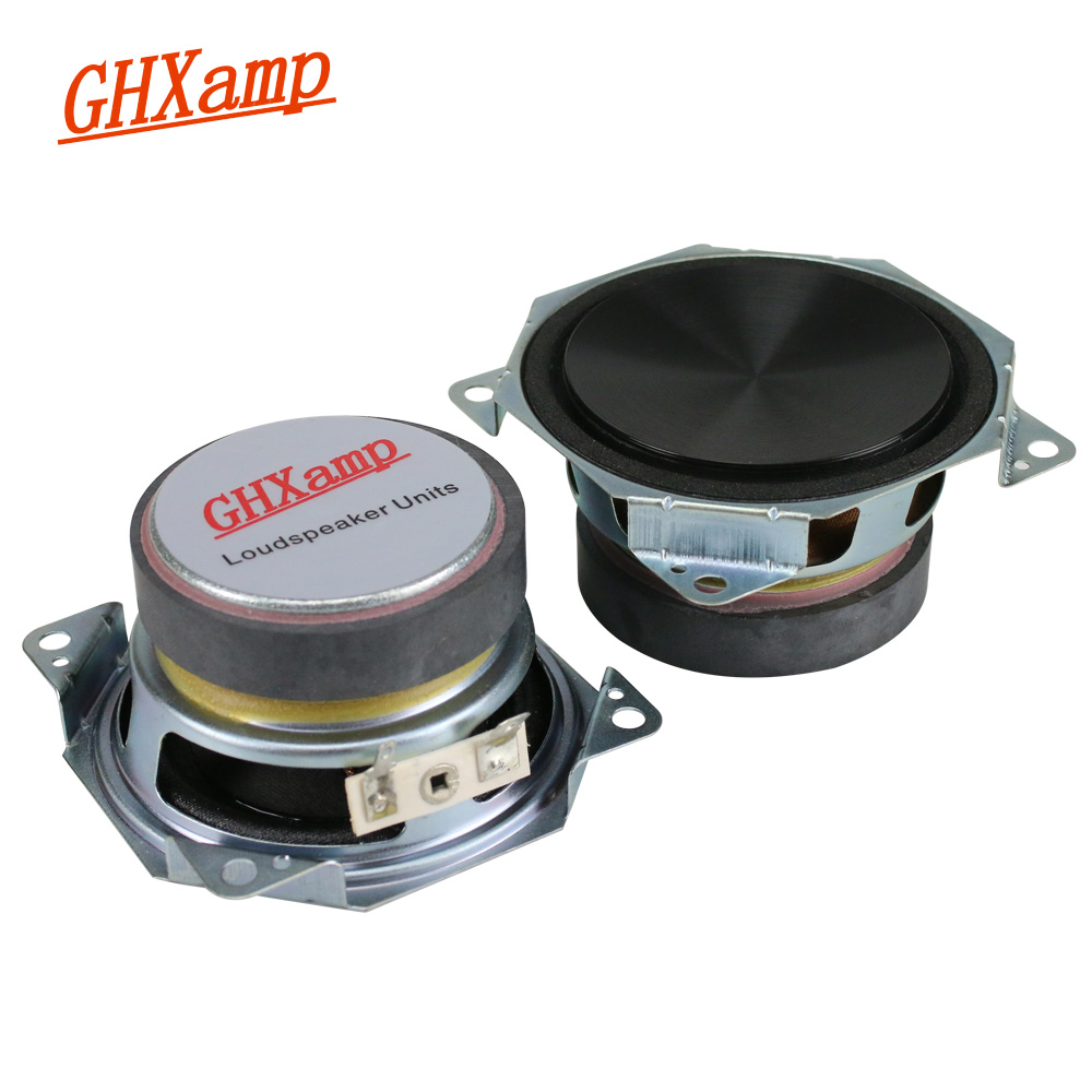 GHXAPM 3 inch Full Range Speaker Auto Mediant Luidspreker Home Theater Audio Luidsprekers 8OHM 25W 2pcs