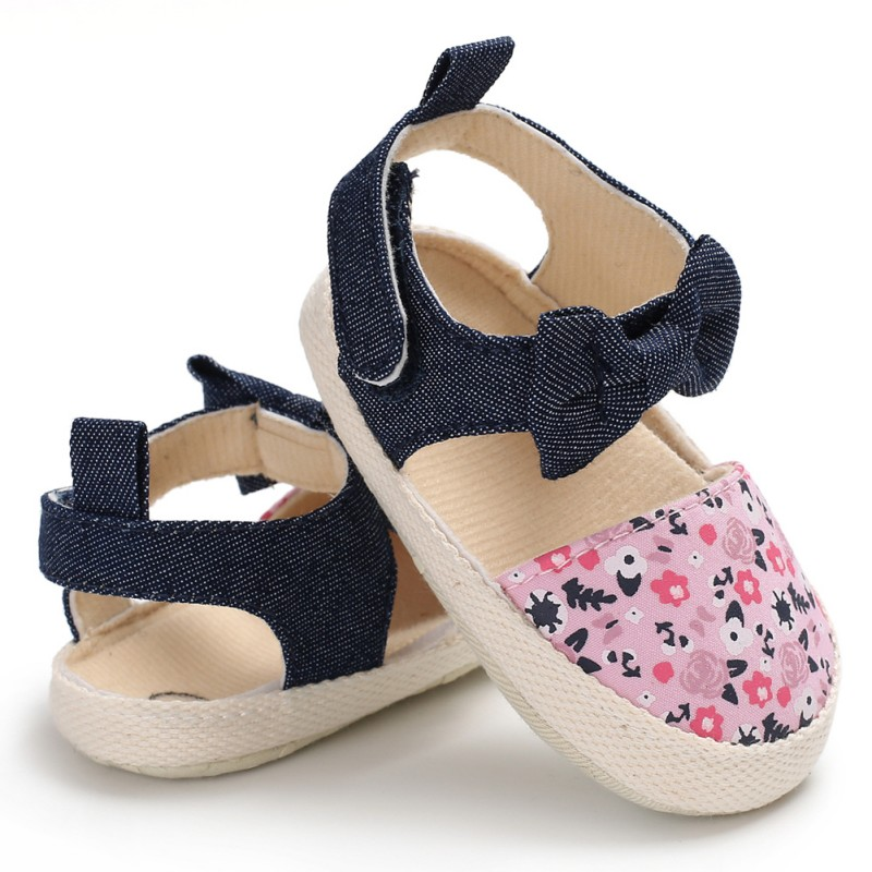Summer Baby Girl Toddler Shoes Small Fresh Printing Princess Shoes Fashion Toddler Shoes Baby Girl Shoes