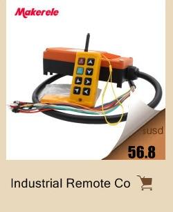 guindaste industrial controle remoto sem fio a partir de makerele China