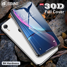 ESVNE Protective Glass For iPhone X Screen Protector 7 8 Xr Xs Max Tempered On 6 6s Plus