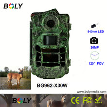 hunting camera 940nm 30MP 1080P invisible IR FOV 110 degree waterproof trail camera wildlife photo traps photo traps trail hunting camera scouting camera ltl acorn 5310a 940nm 44leds 1080p ir