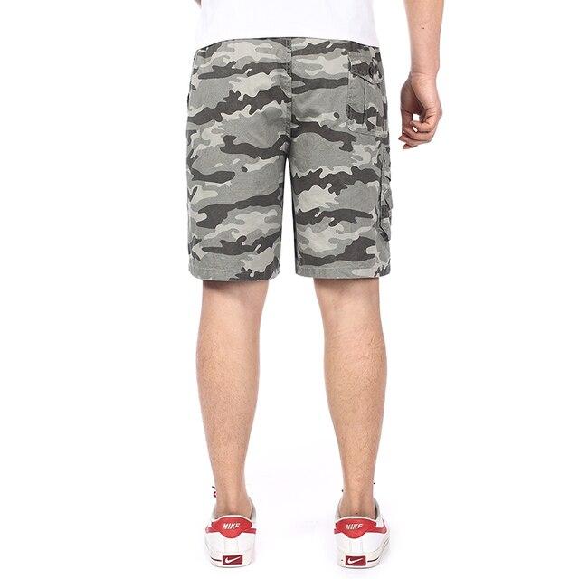 c8b6dcb93eeaf Verano hombre camuflaje color Shorts para hombres Casual algodón ejército  verde Beige amarillo azul marino pantalones