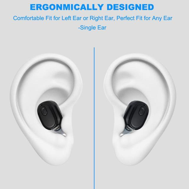 Mini Wireless Bluetooth 4.1 Stereo Headset In-Ear Earphone Earbuds Music Calling Phone Call running cycling, hiking, yoga 30