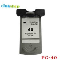 For Canon PG40 PG-40 Black ink cartridge PIXMA MP140/MP150/MP160/MP170/MP210/MP220/MP450 100% quality guarantee