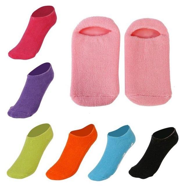 Whitening Exfoliating Foot Spa Gel Socks Moisturizing Gel Heels Protectors Socks
