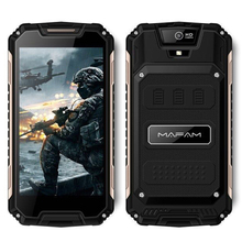 Mafam Rugged Outdoor Android 6.0 Smartphone 5.0inch QHD Screen Quad Core 1+8GB 3G WCDMA 2G GSM Shockproof Slim Mobile Phone