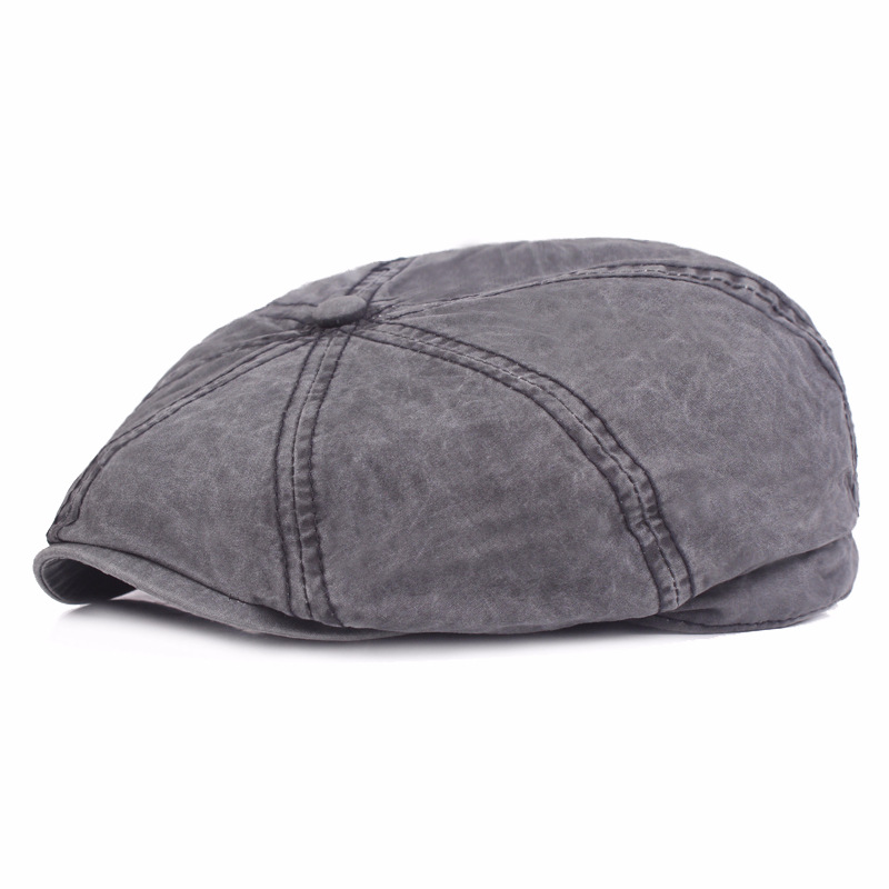 Unisex Newsboy Cap Women Men Vintage Bre