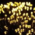 100 LED Luces de la Secuencia del LED de Navidad Wedding Party Light Jardín Iluminación Durante las Fiestas de Navidad de Secuencia de Hadas Solar Luz Al Aire Libre