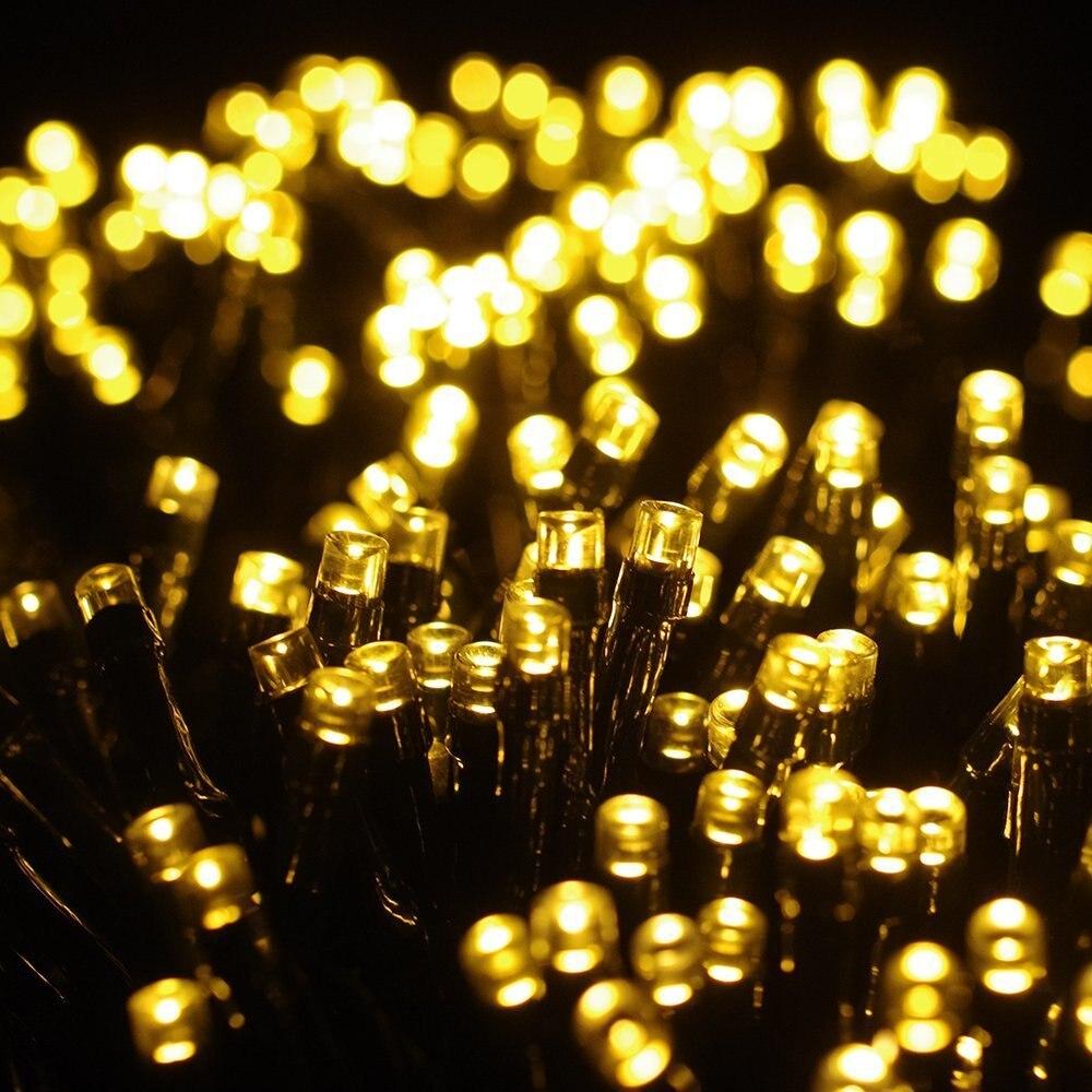 Online buy wholesale solar christmas lights outdoor from for Outdoor christmas lights