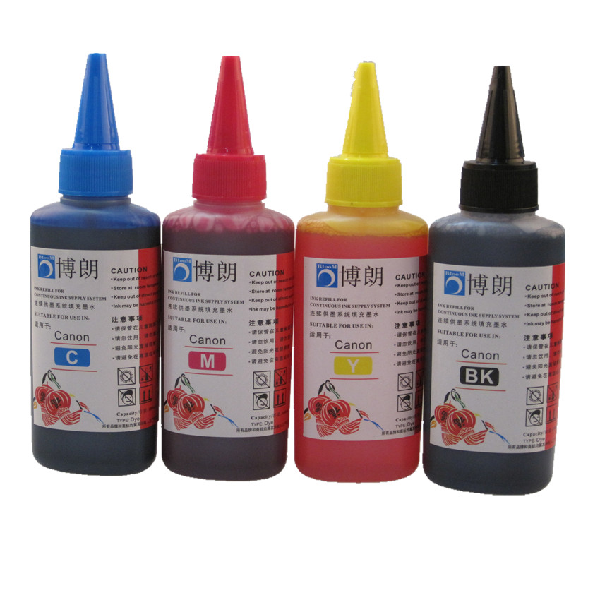 Ink-Kit Refill Pixma MG2410 Mg2540-Printer Canon 400ml For 445 PG IP2810 XL MX494 CL446