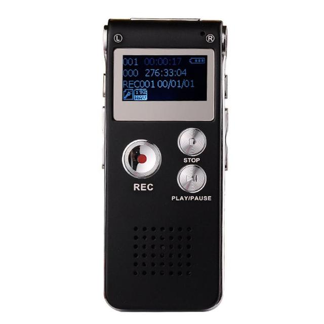 2017 Top Sale New Fashion 8gb Digital Audio Voice Recorder