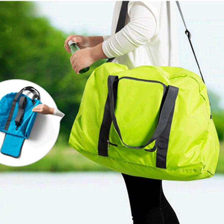 8b9c3fb2a031 US $9.9  Light/Weight Waterproof Travel Bags Women/Men Large Capacity  Foldable Duffle Bag Travel Tote Bags Weekend Bag Bolsos de Mujer-in Travel  Bags ...