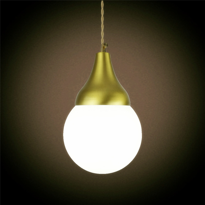 E27 brass material pendant light edison bulb G125 LED vintage copper fabric wire home decoration fixture brass pendant lamp e27 brass material diy pendant light fixture edison globe bulb 40w g125 vintage copper fabric wire lighting fixture chandelier