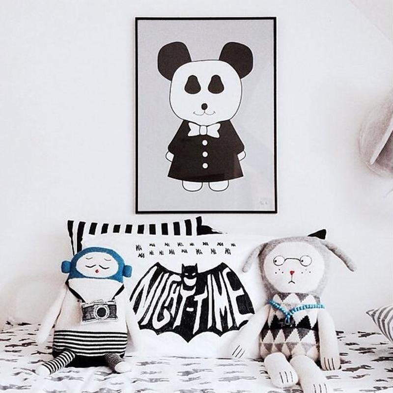 Cute Rabbit Animal DIY Wall Sticker Балалар бөлмесі - Үйдің декоры - фото 3