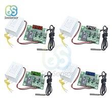 цена на W1209 AC 110V 220V Digital Thermostat LED Display Temperature Control Switch Controller Thermometer NTC Waterproof Sensor Probe