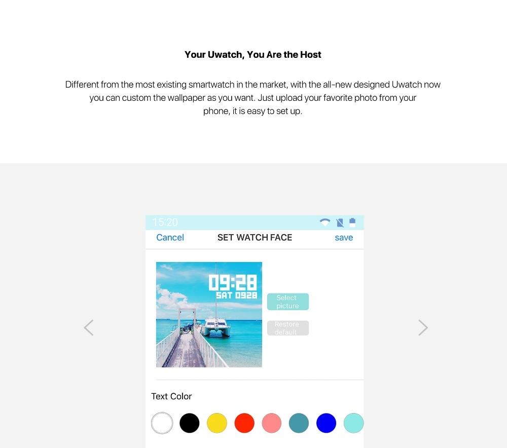 HOT SALE] UMIDIGI Uwatch Smart Watch For Andriod, IOS OS