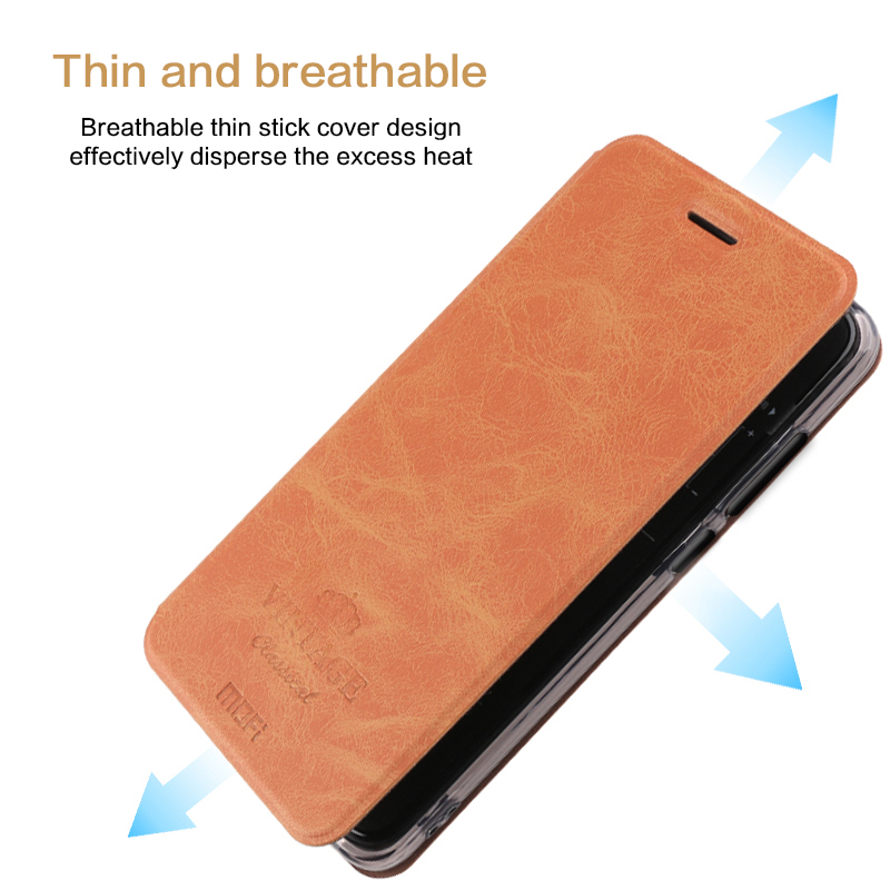 Cover For Oneplus 6 Case MOFI Flip Leather Stand Case For Oneplus 6 Wallet Style PU Leather Cover For Oneplus 6 6 28 39 39 Shell in Flip Cases from Cellphones amp Telecommunications