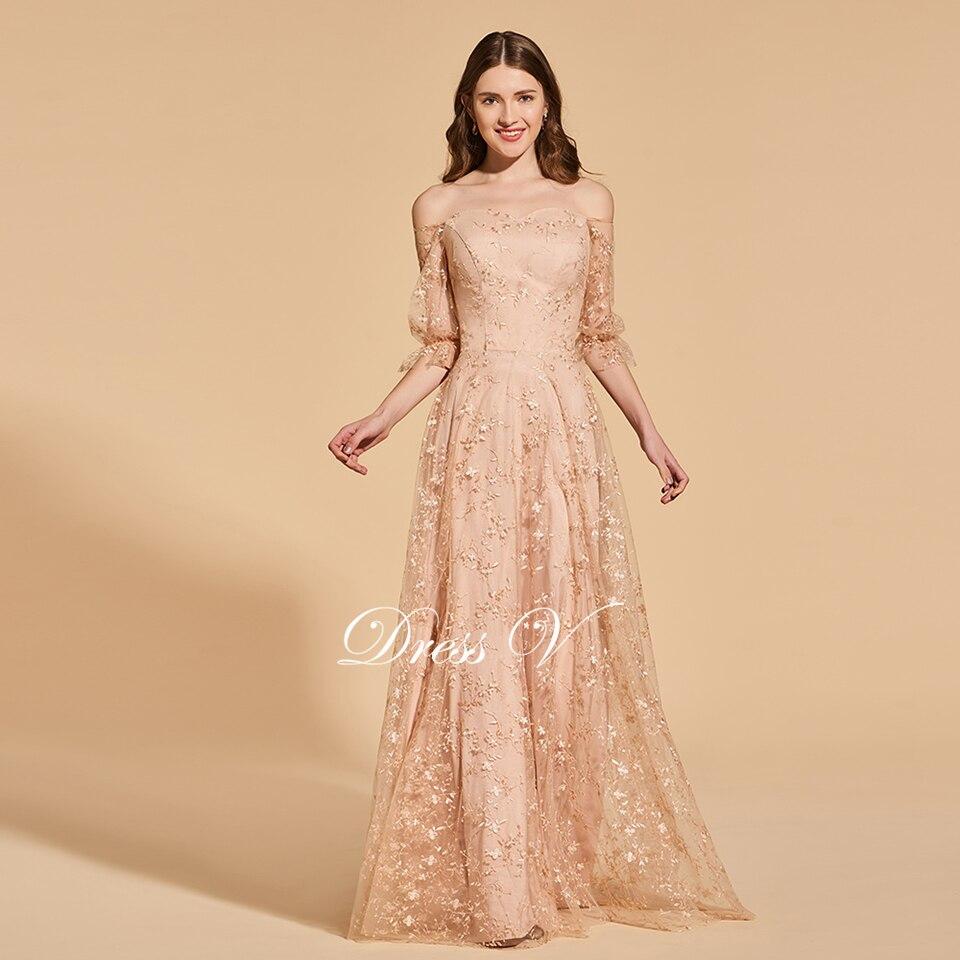 cd52b420574 Dressv noir robe de soirée col haut une ligne élégante manches longues  cheville-longueur de mariage partie formelle robe de soirée robesUSD  120.05-121.21  ...