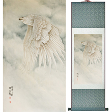 Eagle painting  Home Office Decoration Chinese scroll painting  eagle on Pine tree painting eagle picture SCGS2017120322 органайзер hynes eagle hynes eagle mp002xu0e3a0