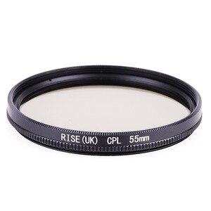 Image 3 - Filtr kamery filtr polaryzacyjny 49mm/52mm/55mm/ 58/62/ 67/72/ 77/ 82mm CPL filtr do aparatów Canon Nikon obiektyw lustrzanki cyfrowej