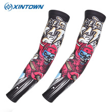 XINTOWN Cycling Armwarmers Velo Manchettes Cycliste Homme Manchon Sport Couvre Bras Cyclisme Cuff Bike Arm Sleeve Women Men