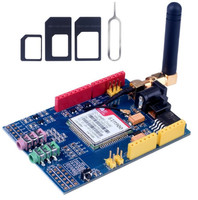SIM900 GPRS GSM Shield Development Board Quad Band Module For Arduino Compatible