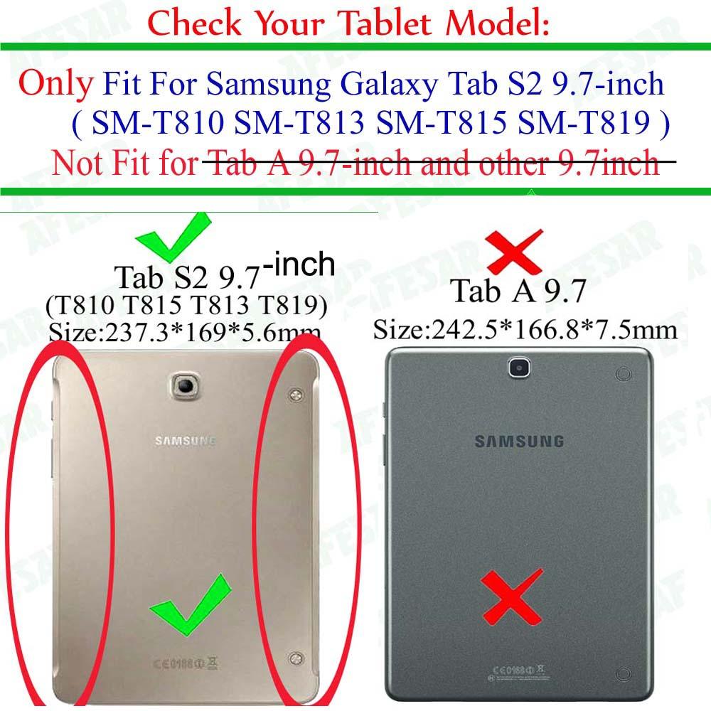 SM-T810 T815 T813 T819 Tab S2 9.7 Samsung Galaxy Tab S2 9.7 Tab S2 - Planşet aksesuarları - Fotoqrafiya 2