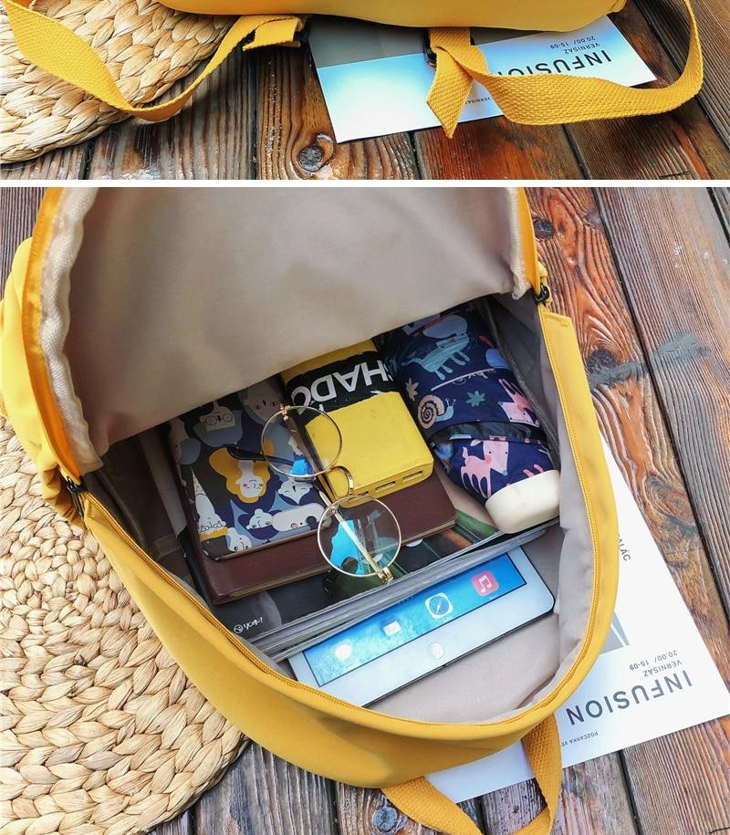 HTB1WWvjKAzoK1RjSZFlq6yi4VXaO DCIMOR New Waterproof Nylon Backpack for Women Multi Pocket Travel Backpacks Female School Bag for Teenage Girls Book Mochilas