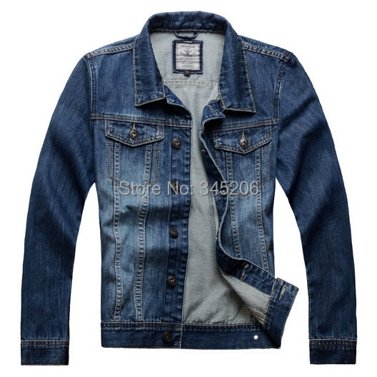 2015 New Big Size S-3XL Men's Denim Jackets Casual Brand Jeans Wear Cowboy Trendy Outerwear Coats Men MS099 - Fashion Man Workshop Co. Ltd store