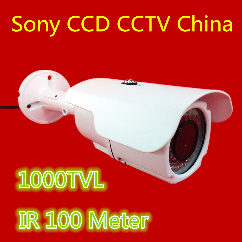 ФОТО China CCTV Camera 1000TVL IR Day/Night Vision IR 100 MeterHome Security Video Bullet Outdoor Surveillance Camera CCTV Outdoor
