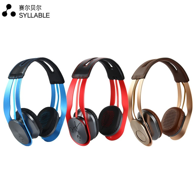 2016  Syllable G700 Stereo Bluetooth 4.0 Headphone 3.5mm HIFI NFC Noise Cancellation Double Microphone Headset For iphone