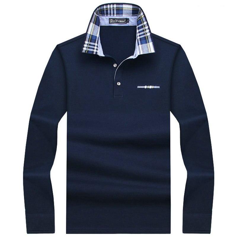 2018 Casual cotton Men   Polo   Shirt Thicker Mens Long Sleeve Solid   Polo   Shirts Camisa   Polos   Tops Tees Plus size 7XL 8XL 9XL 10XL