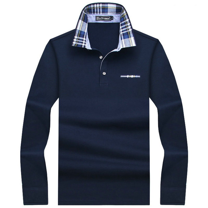 2019 Casual cotton <font><b>Men</b></font> <font><b>Polo</b></font> <font><b>Shirt</b></font> Thicker <font><b>Mens</b></font> Long Sleeve Solid <font><b>Polo</b></font> <font><b>Shirts</b></font> Camisa <font><b>Polos</b></font> Tops Tees Plus size 7XL <font><b>8XL</b></font> 9XL 10XL image