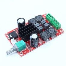 Xh-m189 2*50 Вт цифровой Усилители домашние доска DC 24 В TPA3116D2 двухканального стерео 2X50 Вт Усилители домашние доска 20 Гц-20 Гц