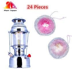 24 sztuk Butterfly Mantle wysokiej jakości lampy gazowe  lampa zewnętrzna płaszcz gazowy  płaszcz światła na zewnątrz  lekki obóz olejowy 500-600cp