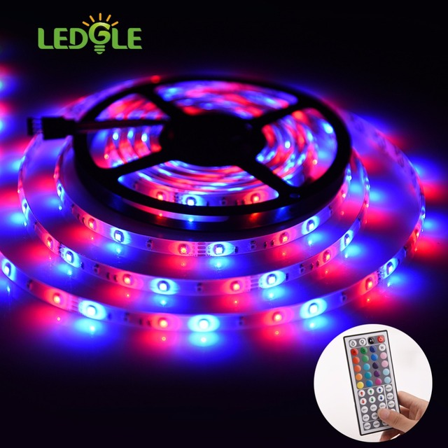 Ledgle 5m dc12v 300leds waterproof smd3528 rgb color changing led ledgle 5m dc12v 300leds waterproof smd3528 rgb color changing led light strip high brightness 44key remote aloadofball Gallery