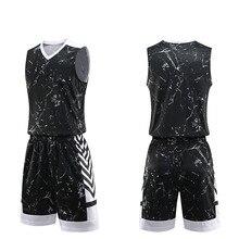 93ccd6d9 2019 мужские баскетбольные майки шорты комплект для мужчин женщин  спортивная одежда Custom Print Draw Team Джерси