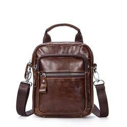 Мужские сумки из натуральной кожи, мужские мини-сумки, дорожные сумки через плечо, маленькие повседневные сумки с клапаном, мужская сумка