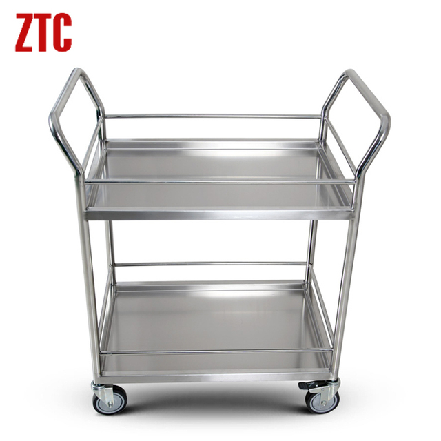 Superieur High Quality Medical Utility Cart Trolley,mobile Stainless Steel Cart For  Hospital,office Storage