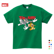 Children of Tom and Jerry Tee Tops. I bought short sleeve T-shirts for children. 3-9 boys girls