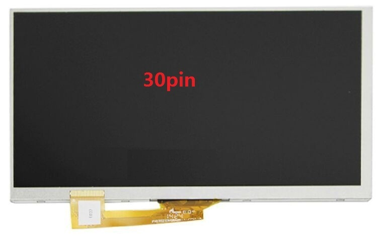 7INCH 30pin FPC0703008 LCD matrix display For Wolder miTab Praga Archos 70B Xenon 3G Screen Display TABLET Parts 7 inch for l070hl02 l070hl02 tablet fpc