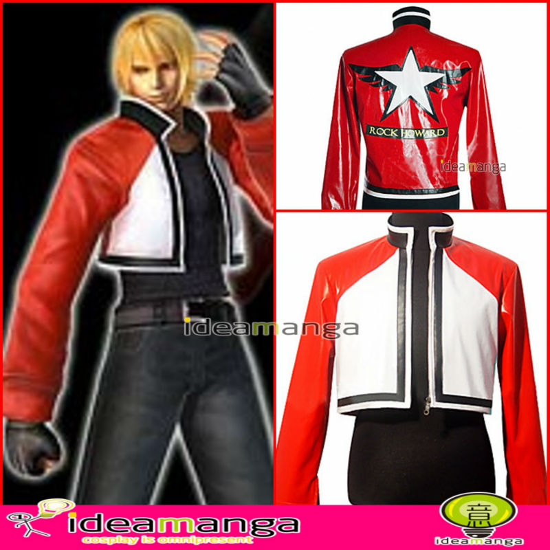 New The King Of Fighters Kof Rock Howard Jacket Uniforms Cosplay Costume Mi Tiles Com Read more information about the character rock howard from king of fighters: new the king of fighters kof rock