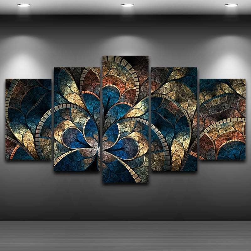 Artistic Print Painting on Canvas wall art pictures Framed Spray Oil Painting Decoration HD Printed Home