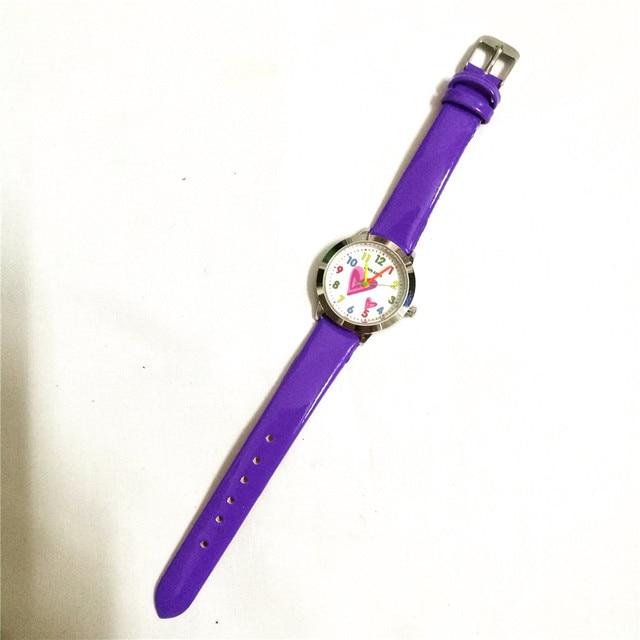 Studenti di moda vigilanza del regalo della ragazza orologio al quarzo per bambini causali bambini numero cartoon orologio da polso montre enfant relogio infantil