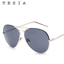 TESIA Aviator Sunglasses Men luxurious model 2016 Color Patchwork Sun Glasses Unisex Female Eyewear UV400 Gafas De Sol T919