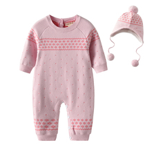 4e0f183e4be6 Buy knitted romper pink and get free shipping on AliExpress.com