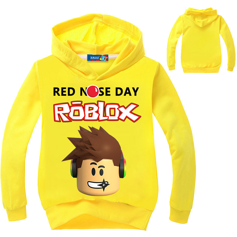 Roblox Clothes Long Sleeve T shirt Hoodies Sweatshirt Clothes For Children Boys Girls