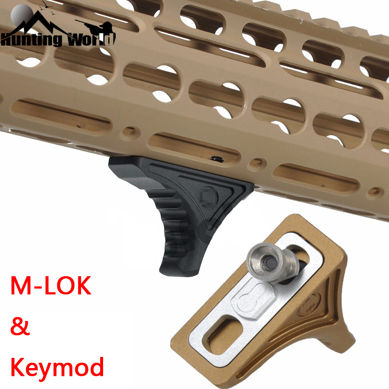 Tactical Bi-Directional Hand Stop Handstop Fore Grip Foregrip for M-LOK KeyMod